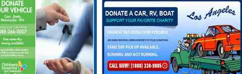 Car Donations Los Angeles: Where To Donate